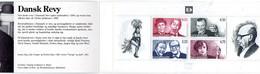 PIA  - DANIMARCA -  1999 : 150° Anniversario Della Prima Rivista Culturale Danese - Attori  - (Yv  C1218 - II°) - Carnets