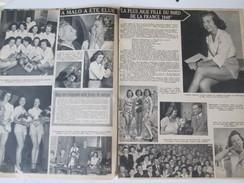 1949  A Malo Les Bains Election De   La Miss Nord France Dunkerque - Malo Les Bains