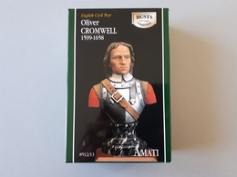 Buste Olivier Cromwell Guerre Civile Anglaise 1599 - 1658  1/10  Amati   & - Army