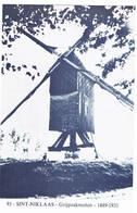 Sint-Niklaas: Grijpzakmolen ( 2 Scans) - Sint-Niklaas