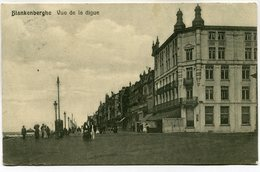 CPA - Carte Postale - Belgique - Blankenberge - Vue De La Digue - 1911 ( M7358) - Blankenberge