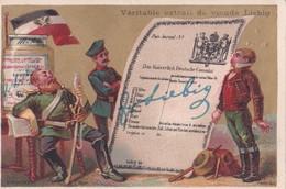 Vers 1895 Extrait De Viande Liebig : Contrat Consulat Allemand (drapeau) - Liebig