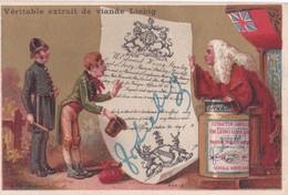 Vers 1895 Extrait De Viande Liebig : Contrat Angleterre (drapeau) - Liebig