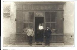 DIJON - Carte Photo - Boutique Du COIFFEUR Charles WEBER (1920) - Dijon