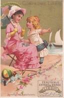 "Vers 1895 Extrait De Viande Liebig : ""maman Les Petits Bateaux"" (chanson) - Liebig"
