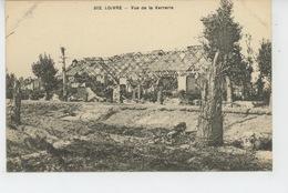 GUERRE 1914-18 - LOIVRE - Vue De La Verrerie - France