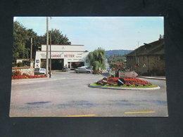 JUVIGNE   / ARDT  Mayenne   1950   /   VUE  COMMERCE GARAGE  / CIRC /  EDITION - France