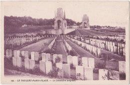 62. LE TOUQUET-PARIS-PLAGE. Le Cimetière Anglais. 193 - Le Touquet