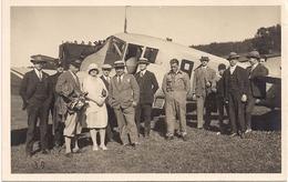 Aviation - Avion Junkers F-13 à La Chaux-de-Fonds - 1929 - Pilote Kammacher - 1919-1938: Entre Guerres