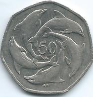 Gibraltar - Elizabeth II - 50 Pence - 2001 - KM778 - Gibraltar