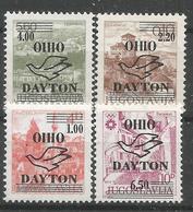 """HR 1995 OVERPRINT """"DAYTON"""" PRIVAT POLITICAL EMISSION, MNH - Croatie"""