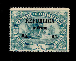 ! ! Tete - 1913 Vasco Gama On Timor 1/4 C - Af. 17 - MH - Tete