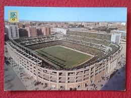 POSTAL POST CARD CARTE POSTALE CAMPO DE FÚTBOL REAL MADRID SANTIAGO BERNABEU ESPAÑA SPAIN FOOTBALL SOCCER FIELD ESPAGNE - Fútbol