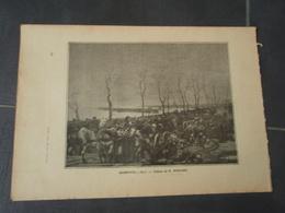 BUZENVAL 1870  Extrait De L'Histoire Populaire De La Guerre 1870/71  Tableau De E. MEDARD - Militaria