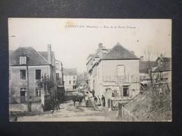 50 - Carentan - CPA - Rue De La Petite Vitesse - Cliché Buret / R. Dudonet - E. Le Deley - Peu Commun - BE - - Carentan