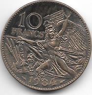 *france 10 Francs 1984   Km 954  Unc - France