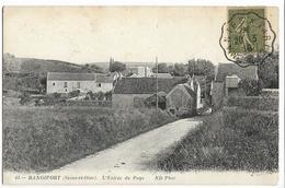 RANGIPORT  (GARGENVILLE ) L'Entrée Du Pays ND 63, Envoi 1918 - Gargenville
