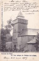 Souvenir De Feluy La Tour Antique Du Château De La Rock Circulée En 1905 - Seneffe