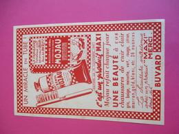 Buvard/ Cirage/Pâte Colorant XénolMOJAU/ Refait Une Beauté à Vos Chaussures De Cuir Clair/ Vers 1940-1960    BUV324 - Waschen & Putzen