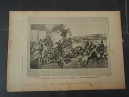 Le Régiment De La Reine Olga, à Coeuilly  Extrait De L'Histoire Populaire De La Guerre 1870/71. Tableau De FABER DU FAUR - Militaria