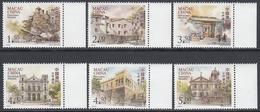 Macau 2008 - Definitive Stamps: UNESCO World Heritage - Part Set Mi 1585-1586, 1589-1592 ** MNH - 1999-... Speciale Bestuurlijke Regio Van China
