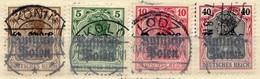 Deutsche Post In Polen, 1915, 1-3; 5, Gestempelt [170219XXIII] - Bezetting 1914-18