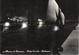 Marina Di Ravenna - Porto Canale - Notturno - Vg - Ravenna