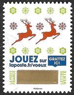 FRANCE   2018 -   YT 1644  - Timbre à Gratter  N°  4  -  Oblitéré - Francia