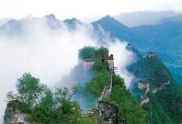 CPSM Chine-La Grande Muraille De Chine à Jiankou                         L2780 - Chine