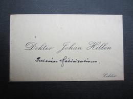 CARTE DE VISITE (M1611) DOKTER JOHAN HILLEN (2 Vues) ZOLDER - Visiting Cards