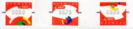 PIA - DANIMARCA -1998 : Francobolli Per Machine Distributrici   - (Yv 3 ) - Vignette Di Affrancatura (ATM/Frama)