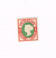 Reine Victoria.MH,Neuf Charnière,Mit Falz.Yvert 10 - Heligoland (1867-1890)