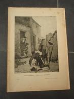 FRANCS-TIREURS Extrait De L'Histoire Populaire De La Guerre 1870/71.Tableau De Léon COUTURIER - Militaria