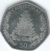Gibraltar - Elizabeth II - 50 Pence - 2016 - Christmas - Gibraltar