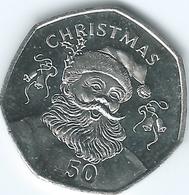 Gibraltar - Elizabeth II - 50 Pence - 2017 - Christmas - Gibraltar