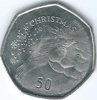 Gibraltar - Elizabeth II - 50 Pence - 2015 - Christmas - Gibraltar