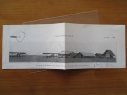 """(1935) INDOCHINE - """"Poste Rolland""""  Aerodrome Pays MOI - Avion Militaire   - Coupure De Presse Originale (Encart Photo) - Historical Documents"""