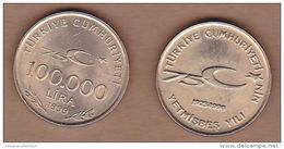 AC - TURKEY 100 000 LIRA 1999 75th YEAR OF TURKISH REPUBLIC UNCIRCULATED - Turkije