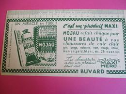 Buvard/miracle En Tube/MOJAU/C'est Un Produit MAXI/Mojau Refait  Chaque Jour ../SAINT-OUEN// Vers 1940-1960    BUV327 - Waschen & Putzen