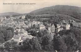 Baden Baden Von Der Oberrealschule Gesehen 1913 Flaggenstempel (Mitte) - Baden-Baden