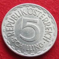 Austria 5 Schilling 1952 KM# 2879 Autriche - Autriche