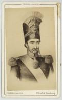 CDV 1870-80 Charles Jacotin à Paris . Le Shah De Perse, D'après Tableau . - Anciennes (Av. 1900)