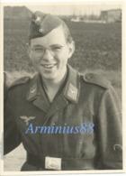 Luftwaffe - Portrait - Gefreiter - Schiffchen - Guerre, Militaire