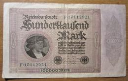 · Billet, Allemagne, 10.000 Mark  -  Ft: 19 X 11,5 Cm - 1923 - [ 3] 1918-1933 : République De Weimar