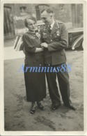 Luftwaffe - Portrait - Unteroffizier - Mit Frau - Guerre, Militaire