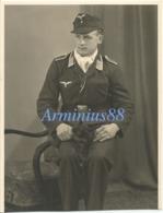 Luftwaffe - Portrait - Unteroffizier - Einheitsfeldmütze - Guerre, Militaire
