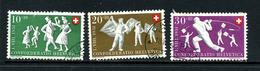 Suisse 1951 Y&T 508 509 510 ° - Suisse