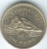 Gibraltar - Elizabeth II - 1 Pound - National Day - 1995 - KM340 - Gibraltar
