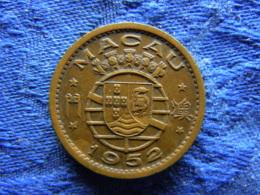 MACAU 10 AVOS 1952, KM2 - Macao