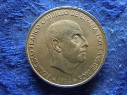 SPAIN 100 PESETAS 1966 (68), KM797 - [ 5] 1949-… : Royaume
